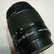 Lensa Canon EFS 18-55mm IS II Second (28588307) di Kab. Klaten