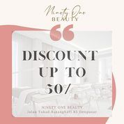 Ninety One Beauty OCTOBER PROMO up to 50% OFF Nikmati harimu dengan treatment kami (28596103) di Kota Jakarta Selatan
