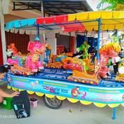Kereta Mini Panggung Odong Odong Animal Komedi Putar Gajah Pink 11 (28599587) di Kota Medan