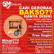 Gerobak Bakso Termurah / Rombong Bakso Kayu Mahoni Paket Sederhana (28602007) di Kab. Kotawaringin Barat