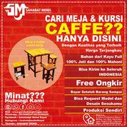 Meja Cafe / Resto Kecil Kayu Jati Termurah (28603955) di Kab. Kutai Kartanegara