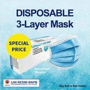 Masker 3 Layer Beli 3 Box Gratis Ongkir Sepulau Jawa (28604231) di Kota Jakarta Timur