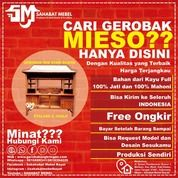 Gerobak Mie Ayam Bakso / Rombong Mie Ayam Bakso Etalase 2 Joglo Termurah (28606415) di Kota Kediri