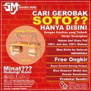 Gerobak Soto Pikul Jari-Jari / Rombong Soto Pikul Jari-Jari Kayu Mahoni (28609615) di Kab. Pulang Pisau