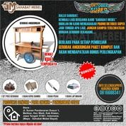 Gerobak Angkringan Terlaris/ Rombong Angkringan Paket Sahabat Jati (28612319) di Kab. Lahat