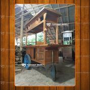Gerobak AngkringanRoda 3 Paket Sahabat / Rombong Angkringan Roda 3 Termurah (28621115) di Kab. Lahat