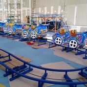 Mini Coaster Wahana Odong Odong Kereta Lantai Fullset (28621351) di Kab. Muko Muko