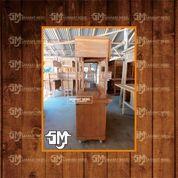 Gerobak Minuman / Gerobak BOOTH 2 Kayu Mahoni Dan Jati Free Ongkir (28622099) di Kab. Bantaeng