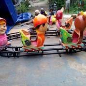 Odong Ododng Kereta Panggung Fibe Oval Kartun Kondisi Baru Murahhhhhh (28623799) di Kab. Lombok Barat