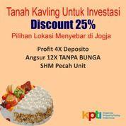 Kavling Dekat Jalan Magelang, Dsikon 25%, Sateplain Rapi (28652859) di Kota Yogyakarta