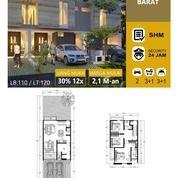 Rumah Baru Minimalis Taman Gayungsari Barat, One Gate System (28654731) di Kota Surabaya