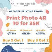 Wonder Photo Shop ID Promo Print Photo 4R 10pcs only for IDR35K. (28673311) di Kota Jakarta Selatan