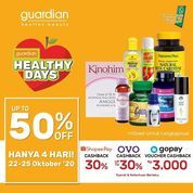 Guardian Promo Healthy Days Up To 50% Off (28679455) di Kota Jakarta Selatan