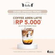 Dum Dum Thai Drinks PROMO Grand Opening Ruko Neo Arcade, Coffee Aren Latte only Rp 5000 (28679895) di Kota Jakarta Selatan