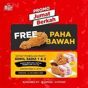 Lets Go! Chicken PROMO JUMAT BERKAH Free Paha Bawah* (28680003) di Kota Jakarta Selatan