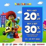 Kidz Station Buy 1 Get 20% Off (28692979) di Kota Jakarta Selatan