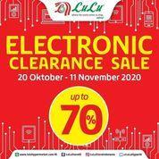LuLu Store Indonesia Electronic Clearance Sale Up To 70% (28693303) di Kota Jakarta Selatan