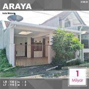 Rumah 2 Lantai Luas 119 Di PBI Araya Kota Malang _ 508.20 (28696703) di Kota Malang