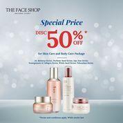 The Face Shop Diskon Spesial 50% Off (28697287) di Kota Jakarta Selatan