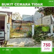 Tanah + Bangunan Luas 209 Di Bukit Cemara Tidar Kota Malang _ 521.20 (28697363) di Kota Malang