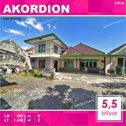 Rumah + Tanah Luas 1.446 Di Akordion Sukarno Hatta Kota Malang _ 522.20 (28697375) di Kota Malang