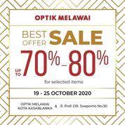 Optik Melawai Best Offer Up To 70% & 80& (28699643) di Kota Jakarta Selatan