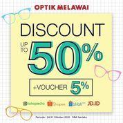 Optik Melawai Discount Up To 50% (28699647) di Kota Jakarta Selatan