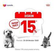 Royal Canin Payday Party Diskon 15% (28699735) di Kota Jakarta Selatan