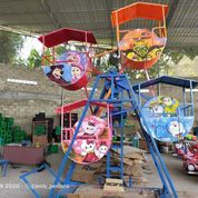 Kincir Angin Odong Odong Pasar Malam Isi 4 Gerbong Full Airbrush (28700883) di Kab. Tulang Bawang