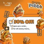 Mr Hungry 50% Off Promo PSBB* (28703991) di Kota Jakarta Selatan