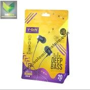 Handsfree V-Gen VEP1-16 DeepBass Wired Earphone Headset Panjang 120cm (28706427) di Kota Surakarta