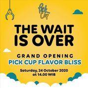 PickCup Grand Opening Flavor Bliss Alam Sutera PROMO BUY 1 GET 1 FREE! (28713755) di Kota Tangerang Selatan