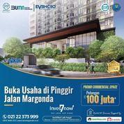 Evenciio Margonda Dengan membeli Commercial Space Evenciio, bisa mendapatkan potongan up to 100jt * (28719295) di Kota Jakarta Selatan