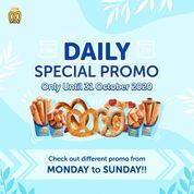 Auntie Anne's Daily Special Promo Until end of October 2020 (28729535) di Kota Jakarta Selatan