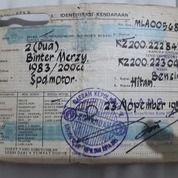 Surat BPKB Motor Kawasaki Binter Merzy Tahun 1983 (28731383) di Kota Surabaya