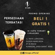 Hi! Cups Promo Opening BELI 1 GRATIS 1 (28737907) di Kab. Kuningan