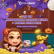 Codashop Promo Dapatkan BONUS PULSA dan KOIN Domino Higgs sekarang* (28738079) di Kota Jakarta Selatan