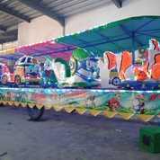 Kereta Mini Panggung Odong Odong Komedi Putar Full Fiber 11 (28769067) di Kab. Nunukan
