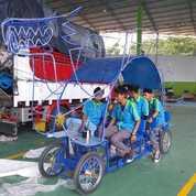 Becak Cinta Odong Gowes Wahana Mainan Anak Ek (28778015) di Kota Tanjung Balai
