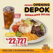 Bebek BKB Promo Paket Rakyat selama sebulan khusus outlet Depok cuma Rp22.727* (28807159) di Kota Jakarta Selatan