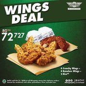Wingstop Wings Deal Promo GrabFood dan GoFood (28807311) di Kota Jakarta Selatan