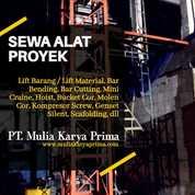 Sewa Alat Proyek Pembangunan Kepulauan Riau (28834827) di Kab. Bintan