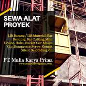 Sewa Alat Proyek Pembangunan Papua (28839107) di Kab. Merauke