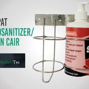 Bracket Hand Sanitizer Botol 500ml Stainless (28854763) di Kab. Bantul