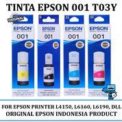 Tinta Printer Epson 001 T03Y Series Original - For L4150, L6160, L6190 (28856543) di Kota Surabaya