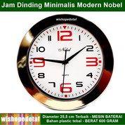 Jam Premium Nobel Dinding Minimalis (28885683) di Kota Jakarta Timur