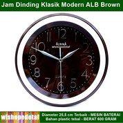 Jam Dinding Bulat Modern Klasik Alb (28885703) di Kota Jakarta Timur