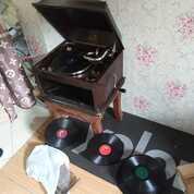 Gramophone Gramofon Antiq Model 104 Th 1930 Antiq Colection (28950663) di Kota Bekasi