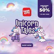 Toys City Unicorn Tales Discount Up To 50% (28954474) di Kota Jakarta Selatan