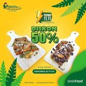 PISANGNYA JENDRAL DISKON 50% di GRABFOOD (28958594) di Kota Jakarta Selatan